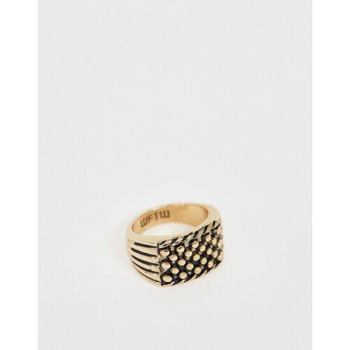 WFTW – Keepsake – Ring mit Gravur in Gold