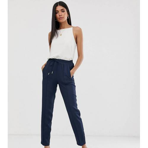 Y.A.S Tall – Legere Hose-Navy XS