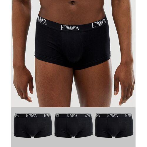 Emporio Armani – EVA – 3er-Pack Unterhosen mit Logo in Schwarz M