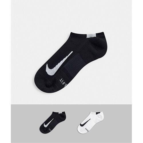 Nike Running – Unsichtbare Socken im 2er-Pack-Weiß L