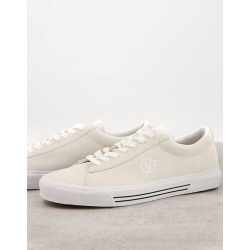 Vans – Sid – Sneaker aus Wildleder in Weiß 40