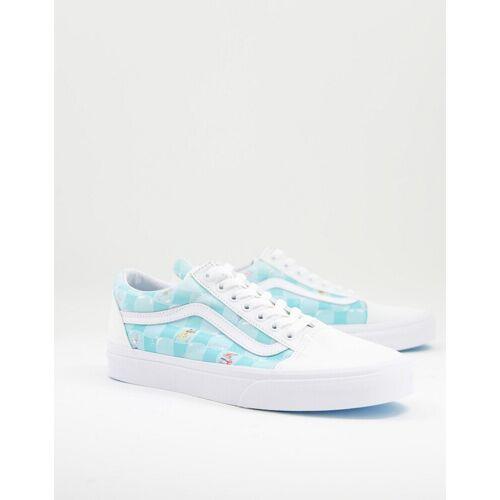 Vans X Spongebob – Old Skool Bikini Bubble – Sneaker in Weiß 41
