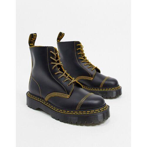 Dr Martens – 1460 Pascal Bex – Schwarze Stiefel mit Doppelnaht 43