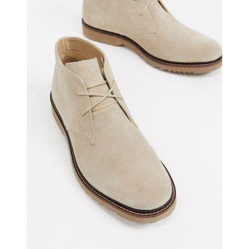 River Island – Chukka Boots in Stone 41