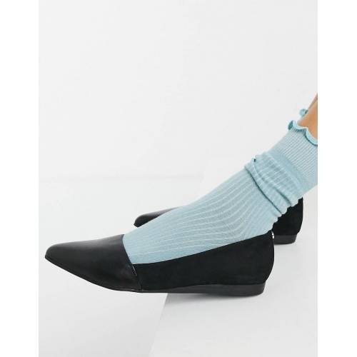ALDO – Spitze Ballerinas in Schwarz 36