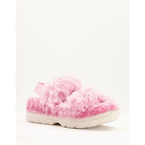 UGG – Fluff Sugar – Nachhaltige Sandalen in Rosa 39