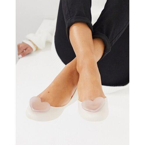 Zaxy – Pop – Ballerinas in Creme-Weiß 36