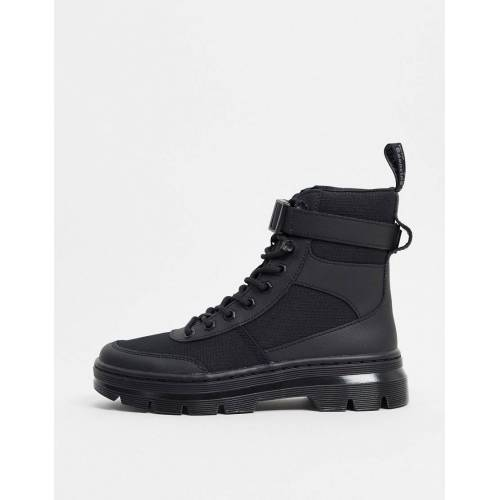 Dr Martens – Combs Tech – Ankle-Boots mit Knöchelriemen in Schwarz 39