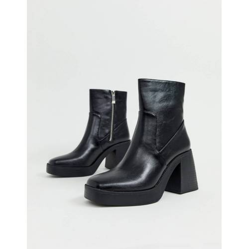 RAID – Lexus – Schwarze robuste Ankle Boots 36