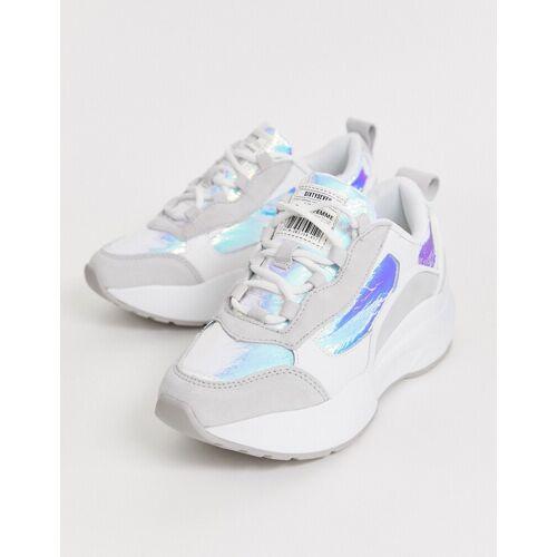 SixtySeven Sixty Seven – Weiße Sneaker zum Schnüren mit dicker Sohle 39
