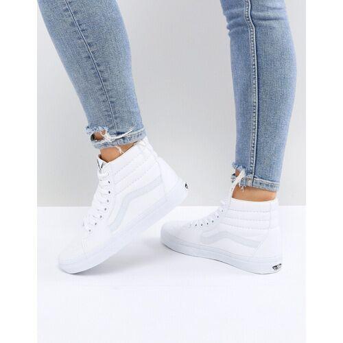 Vans – Sk8 – Knöchelhohe Sneaker in Weiß 42.5