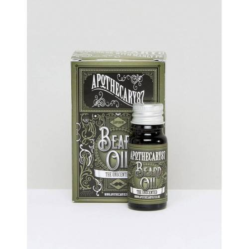 Apothecary 87 – The Unscented – Bartöl, 10 ml-Keine Farbe No Size