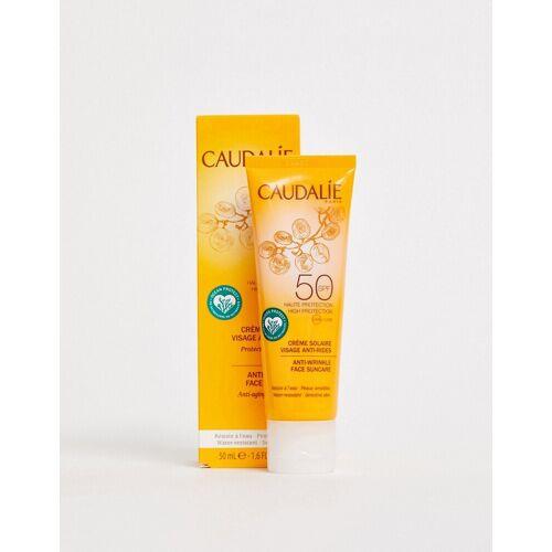 Caudalie – Antifalten-Sonnencreme für das Gesicht, LSF 50, 50 ml-Keine Farbe No Size