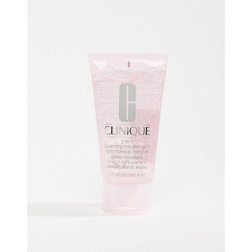 Clinique – 2-in-1 Mizellen-Reinigungsgel und leichter Make-up-Entferner, 150 ml-Keine Farbe No Size