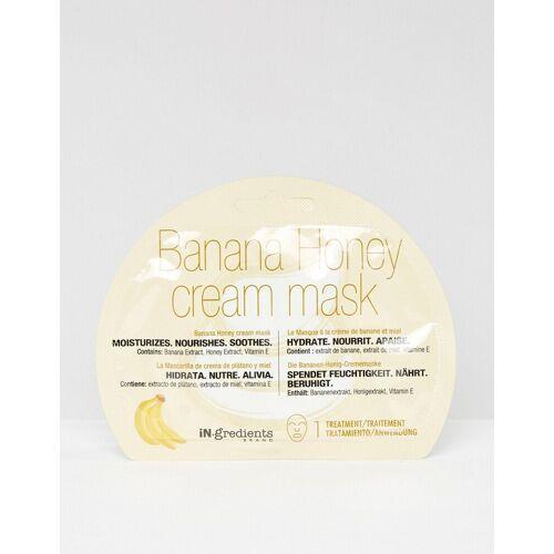 MasqueBAR Creme-Maske mit Bananen- und Honigextrakt-Keine Farbe No Size