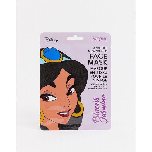 M.A.D Beauty Disney – Jasmine – Erfrischende Sheet-Gesichtsmaske mit grünem Tee-Keine Farbe No Size