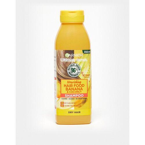 Garnier – Ultimate Blends Nourishing Hair Food – Bananen-Shampoo für trockenes Haar, 350 ml-Keine Farbe No Size