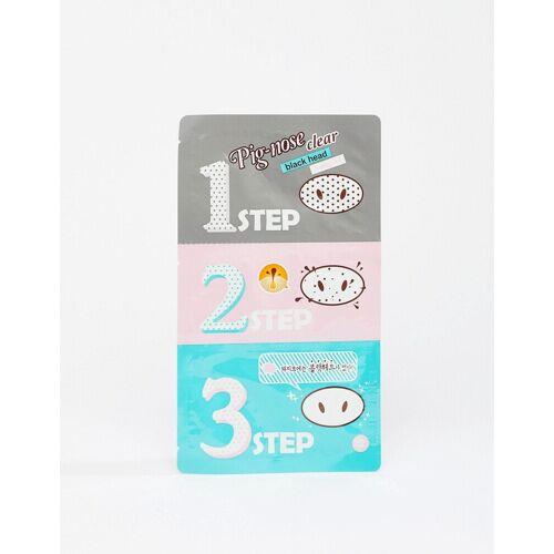 Holika Holika – Pig Nose – 3-Stufen-Masken-Set gegen Mitesser-Keine Farbe No Size