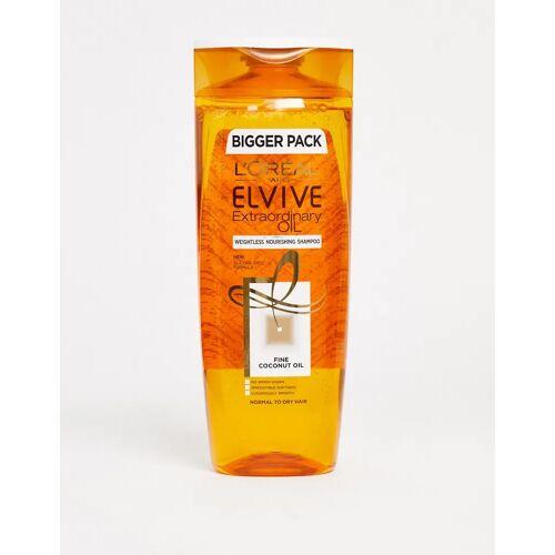 L'Oreal Elvive L'Oreal – Elvive Extraordinary – Shampoo mit Kokosöl, 500 ml-Keine Farbe No Size