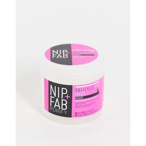 NIP+FAB – Teen Skin – Salicylsäure-Pads für die Nacht, 80 ml-Keine Farbe No Size