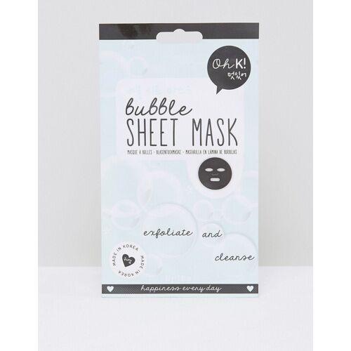 Oh K! – Peelende und reinigende Bubble-Sheet-Gesichtsmaske-Keine Farbe No Size