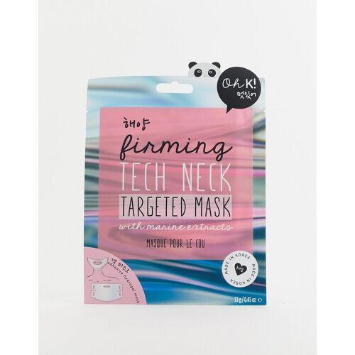 Oh K! – Tech Neck – Straffende Gesichtsmaske-Keine Farbe No Size