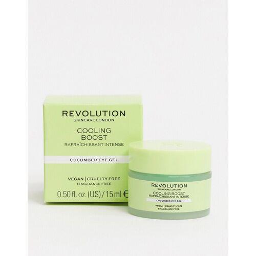 Revolution Skincare – Kühlendes Augengel mit Gurke, 15 ml-Keine Farbe No Size