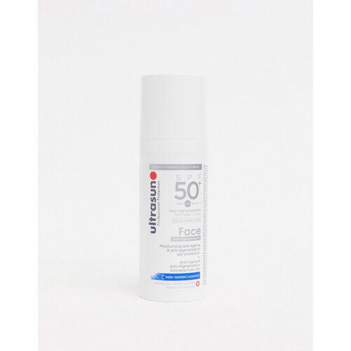 Ultrasun – Anti-Age & Anti-Pigmentation – Sonnencreme fürs Gesicht mit Lichtschutzfaktor 50+ für extrem empfindliche Haut, 50 ml-Keine Farbe No Size