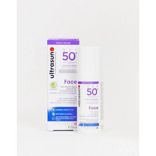 Ultrasun – Anti-Aging-Sonnenschutz für das Gesicht, LSF 50+, 50 ml-Keine Farbe No Size
