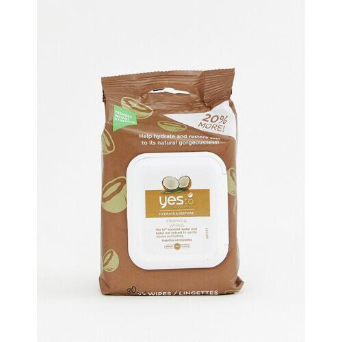Yes To – 30 Gesichtstücher mit Kokosnuss-Keine Farbe No Size