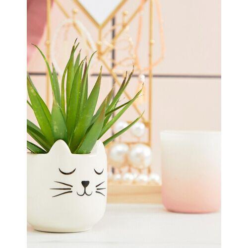 Sass & Belle – Kleiner Katzen-Pflanzentopf