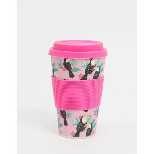 Sass & Belle Sass and Belle – Bambus-Kaffeebecher-Rosa No Size