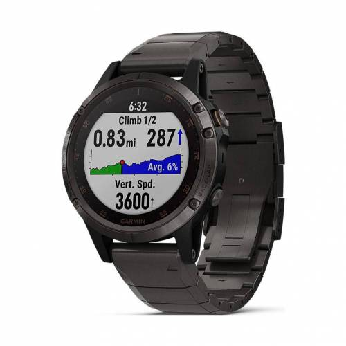 Garmin Smartwatch Fenix 5 Plus Sapphire 40-36-1358