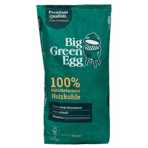 Big Green Egg Bio Holzkohle Grillkohle 100 % naturbelassen Made in Europe 9kg