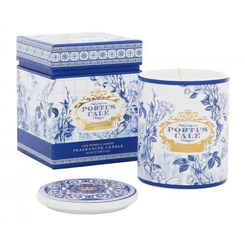 Castelbel Portus Cale Duftkerze Gold & Blue im Keramiktopf