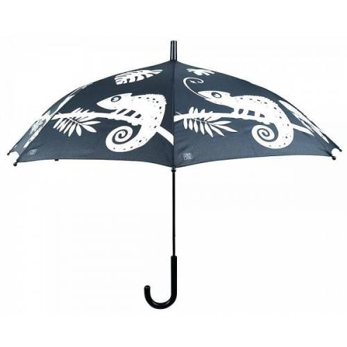 Esschert Design Regenschirm Chamäleon Farbwechsel bei Regen Kinderschirm Stockschirm