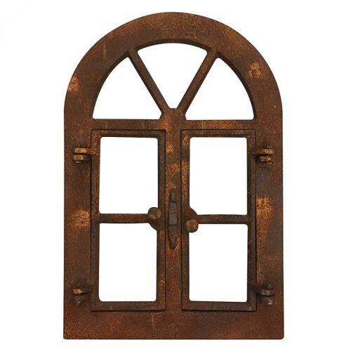 zeitzone Stallfenster zum Öffnen Eisenfenster Rostig Nostalgie Fenster Rahmen Antik-Stil