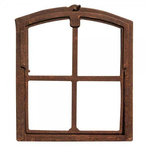 zeitzone Stallfenster zum Kippen Eisenfenster Rostig Kippfenster Rahmen Antik-Stil