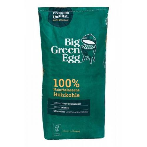 Big Green Egg Bio Holzkohle Grillkohle 100 % naturbelassen Made in Europe 4,5kg