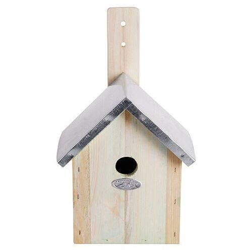Esschert Design Vogelhaus für Blaumeisen Nistkasten Holz 23cm