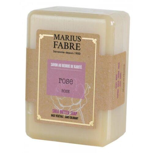Marius Fabre Seife Rose (Rose au beurre de karité) Shea-Butter 150g
