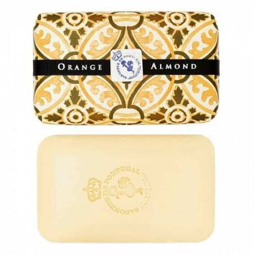 Castelbel Tile Seife Orange & Almond (Orange & Mandel) Olivenöl-Seife - 300g