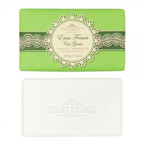 Castelbel Gourmet Seife Cut Grass (Grünes Gras) Olivenöl-Seife - 200g