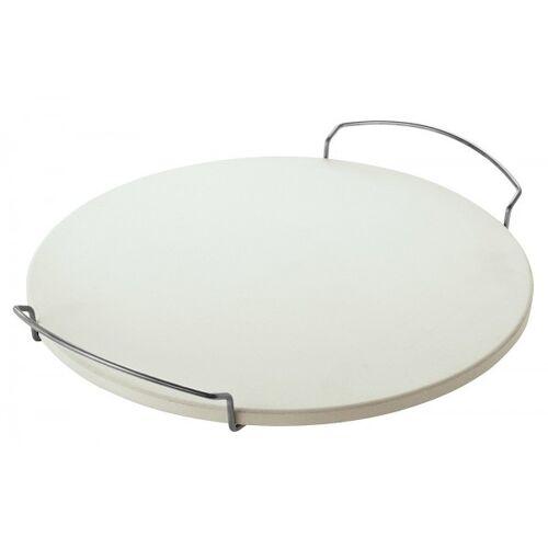 RÖSLE Pizzastein für Grill mit Griffen Rund 41cm