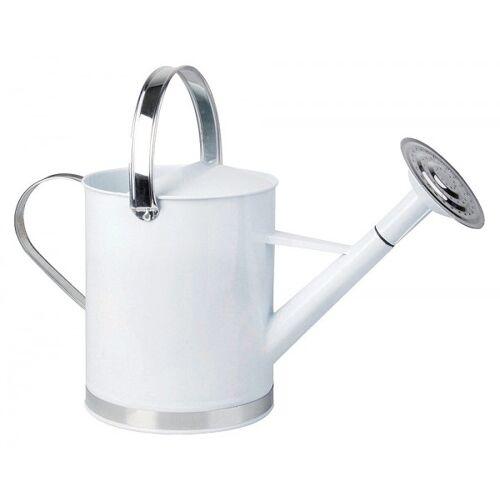 Esschert Design Gießkanne Metall Weiß Giesskanne Landhausstil