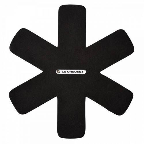 Le Creuset Pfannenschutz 3 Stück Schwarz