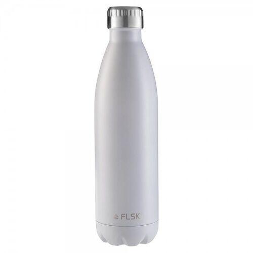 FLSK Trinkflasche White Isolierflasche Weiß - 2. Generation