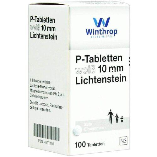 P Tabletten Weiß 10 mm 100 Tabletten