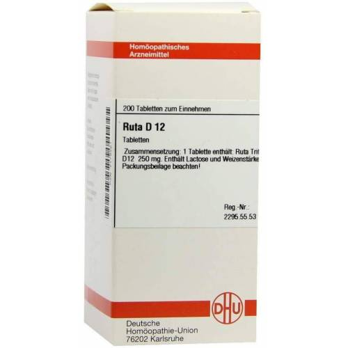 Ruta D12 Tabletten 200 Tabletten