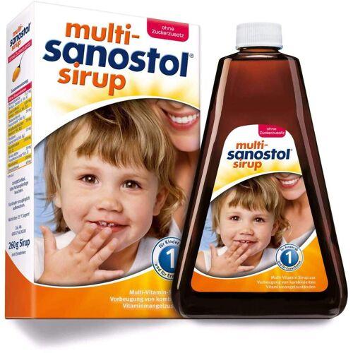 Multi Sanostol Sirup 260 g Sirup